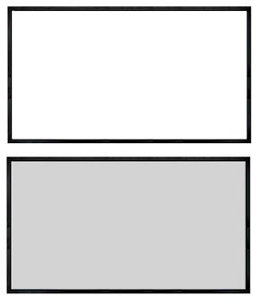 Ekran biały kontra szary