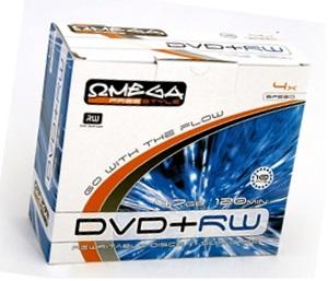 Przykład płyty DVD: FREESTYLE DVD+RW 4.7GB