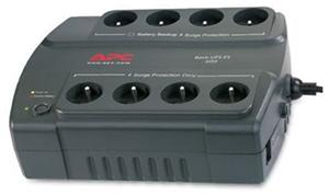 Wtyczki na podstawie APC Back-UPS ES 400VA