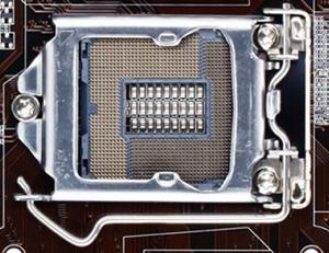 Gniazdo procesora na podstawie Gigabyte GA-B85M-D3H