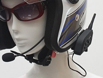 Motocyklowy zestaw słuchawkowy Bluetooth