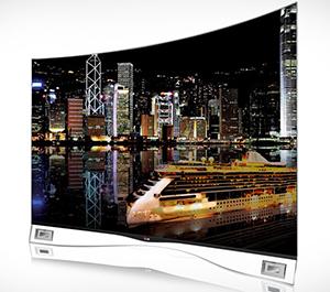 Zakrzywiony ekran OLED LG