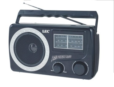Przykład radioodbiornika przenośnego