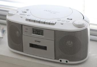 Odbiornik radiowy z odtwarzaczem