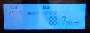Wyświetlacz LCD tunera cyfrowego