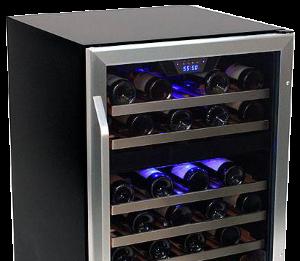 Oświetlana od wewnątrz winiarka