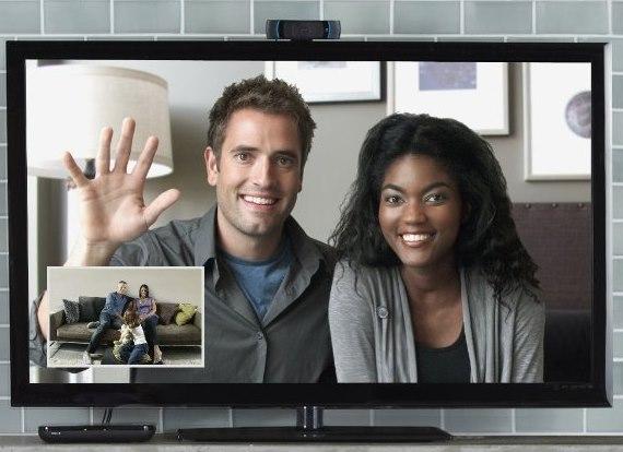 Kamera telewizyjna do wideorozmów w telewizorze