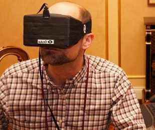 Wizualizacja Oculus Rift