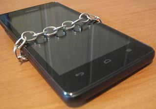 Telefon na łancuchu