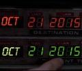 Kadr z filmu powrót do przyszłości