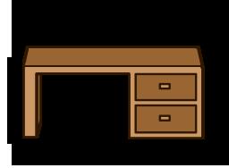 Poglądowe zdjęcie biurka