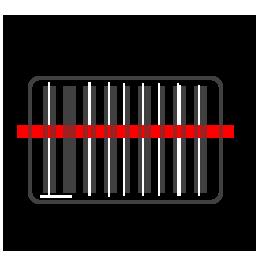 Zdjęcie poglądowe czytnika kodów kreskowych