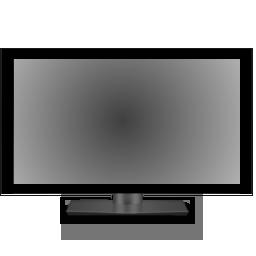 Zdjęcie poglądowe telewizora plazmowego