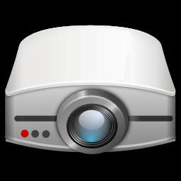 Poglądowe zdjęcie projektora