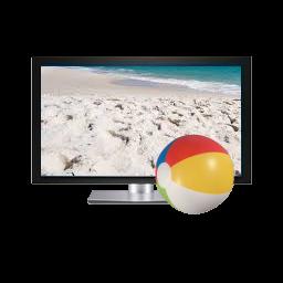Poglądowe zdjęcie telewizora 3D
