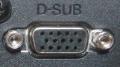 Złącze d-sub stosowane w karcie graficznej (również jako VGA)