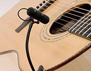 Mikrofon instrumentalny z gitarą